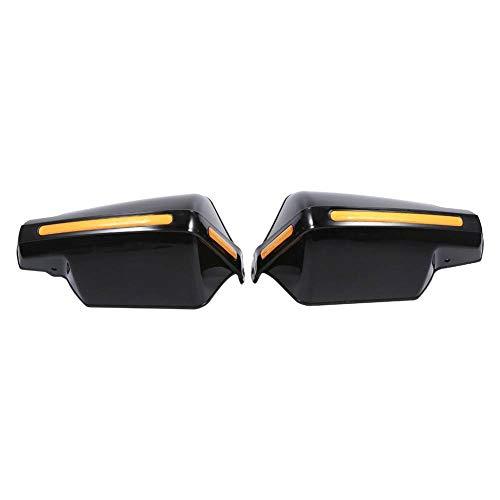 YHONG Par Negro Universal 7/8 Pulgada Handguards Moto/Motocicleta/ATV