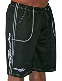 Pantalon de gymnastique noir de la nuque-marque: best body nutrition