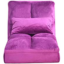 ZL-Sillón puff sofá Perezoso Cama Individual Simple Dormitorio pequeño sofá de Descanso Mini Cama