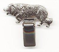 Border Collie Dog Show Ring Clip/Number Holder