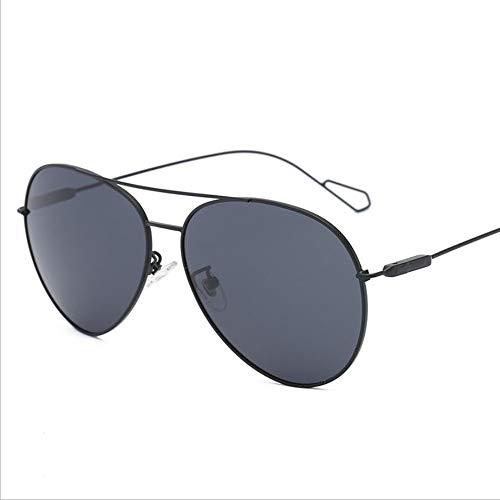 SUNHAO Sonnenbrille Herren Fahren polarisierte Sportbrillen Angeln Golfbrille Schutz Mode-Stil Metallrahmen Ultra Light Aviator Mirror Retro dünne Beine
