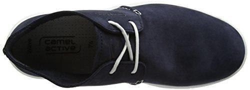 Camel Active Wave 12, Desert Boots Homme Bleu (Midnight 01)