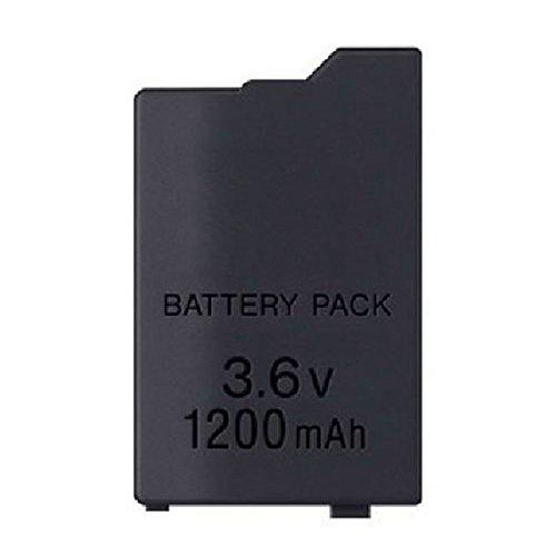 OSTENT Sostituzione del pacco batteria ricaricabile agli ioni di litio da 1200mAh 3.6V per la console PSP-S110 di Sony PSP 2000/3000