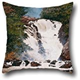 oil-painting-almeida-jonior-votorantim-waterfall-cushion-cases-best-for-beddingpubsonboysdinning-roo