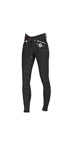 Covalliero Damen Reithose Silikon-Vollbesatz Softshell Ancelle schwarz 34