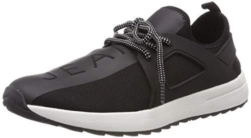 VERSACE JEANS COUTURE Herren Shoes Gymnastikschuhe, Schwarz (Nero 899), 43 EU (Herren Versace Turnschuhe)