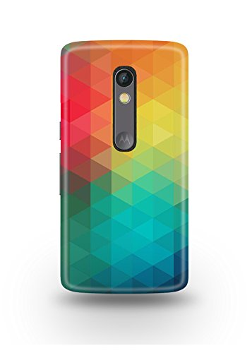 Moto X Play Cover,Moto X Play Case,Moto X Play Back Cover,Colorful Pattern Moto X Play Mobile Cover By The Shopmetro-12429
