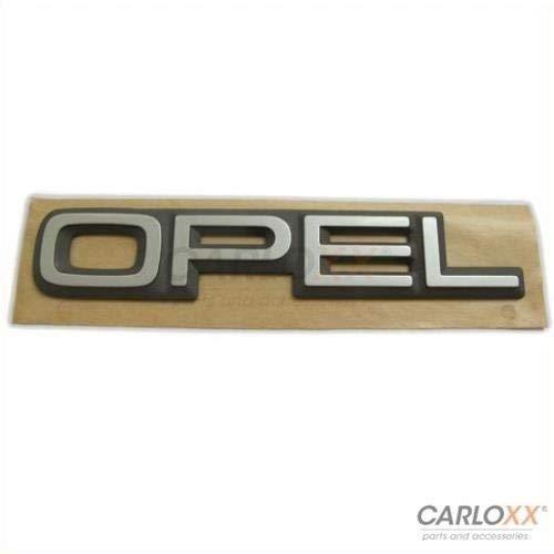 Preisvergleich Produktbild Opel Emblem Schriftzug Badge Kadett Omega Corsa Senator Aufkleber Sticker