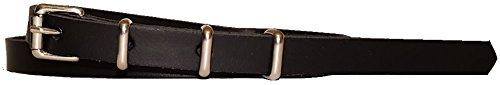 Bucklebox Skinny Leather Belt - ½