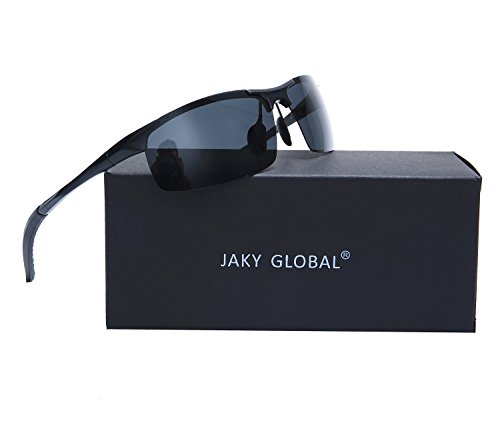 Men's Driving Goggles Sunglasses Polarized Glasses UnbreakableSports Cycling Running Eyewear Fishing Golf JAKY Global