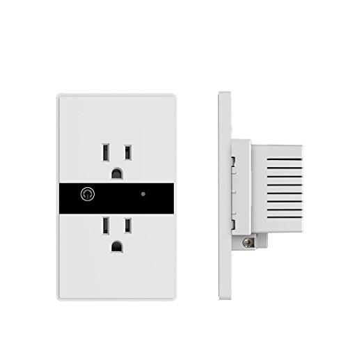 Ils - Smart Wifi Steckdose Stecker Duplex Buchse Schalter Wireless in-Steckdose