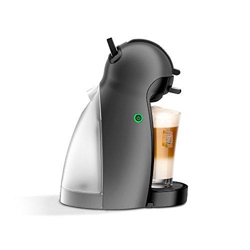 Krups KP100B   Cafetera Nestlé Dolce Gusto Piccolo  15 bares de presión  Gris antracita