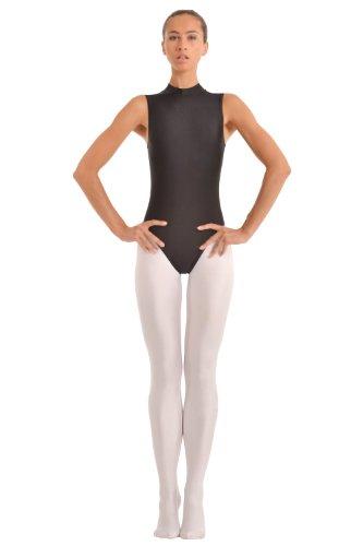 Turnarena Damen Spandex Leggings mit Fuß, Größe:Damen 42;Farbe:silber