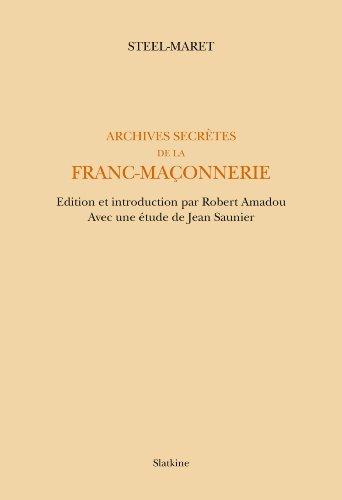 Archives secrtes de la franc-maonnerie