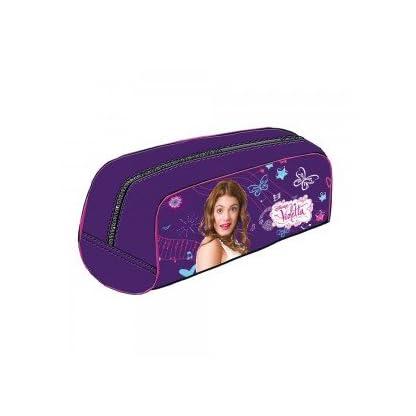 Estuche portatodo Violetta Disney Purple