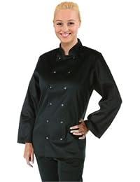 Vegas–Chaqueta de cocinero, color negro