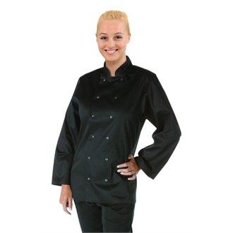 Vegas Chefs Jacket - Black Size XS