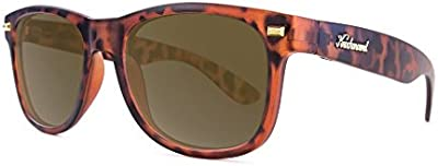 Gafas de sol Knockaround Fort Knocks Matte Tortoise Shell / Amber