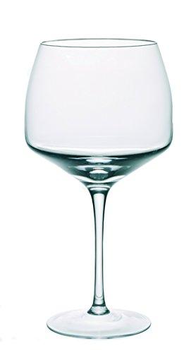 Dkristal Venecia Copa Combinados, 0.9 L, Cristal, 9x9x23 cm, 6 Unidades