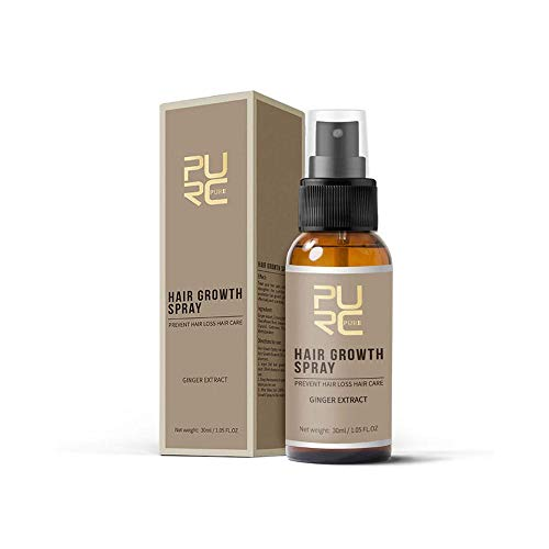 lesgos Haarwuchs-Spray, Fast Growth Hair Essence ätherisches Öl Flüssige Behandlung Gegen Haarausfall Spray Haarpflege -