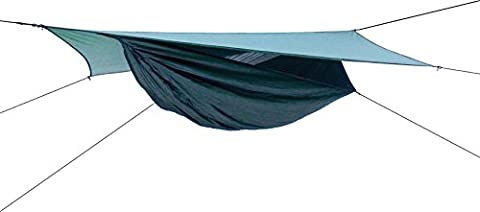 Hennessy Expedition Asym Zip Hammock Hunter Green (4 Expedition Weight Zip)