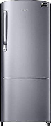 Samsung 212 L 3 Star Direct Cool Single Door Refrigerator (RR22M272ZS8, Elegant Inox)