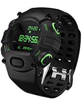 Razer Nabu Armbanduhr (voll ausgestatteter digitaler Chronograf, Fitness Tracking) schwarz