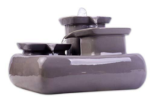 Pumps (water) Mini Pompa 220 Per Acquario Fontana Laghetto Impermeabile Regolabile 5w Con Led 100% Guarantee
