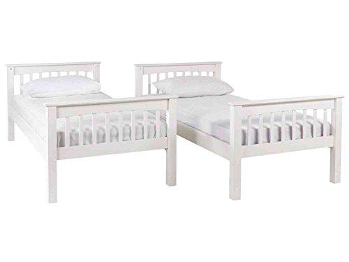 Ideal Furniture Novaro Bunk Bed, White