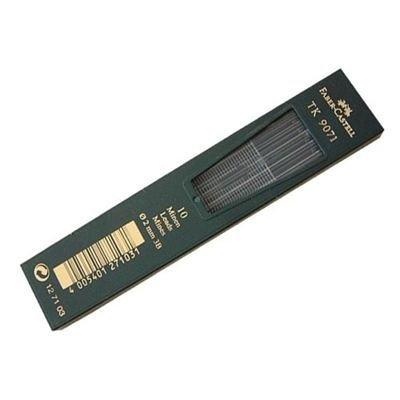 Faber-Castell 127103 - 10 Fallminen TK 9071, Minenstärke 2 mm, Härtegrad 3B