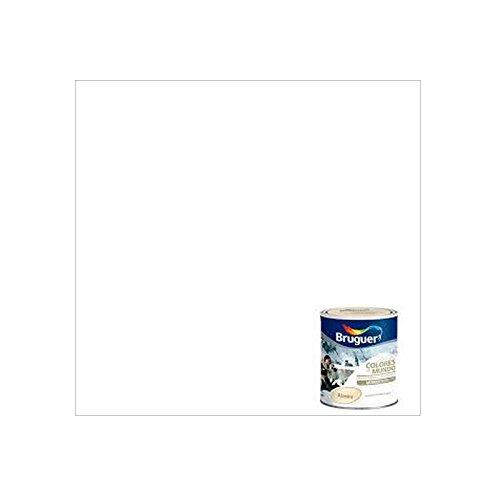 Bruguer - Pintura Plastica Mate Monocapa Cm Alaska Blanco Techos 750Ml