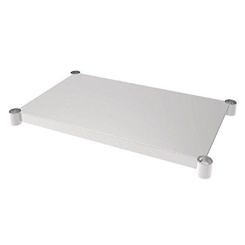 Vogue mensola tavolo acciaio INOX 600x 900MM per tavoli da cucina mobili