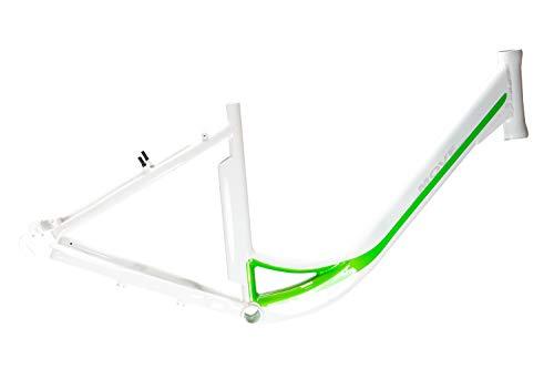 28 Zoll Alu Pedelec Elektro Fahrrad Damen City Rahmen E-Bike Rh 46cm weiß grün