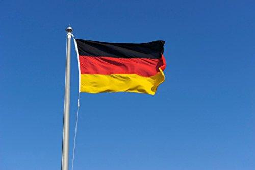 Deutschland Flagge DE Fahne [90x150cm] NEU Wetterfest AZ FLAG