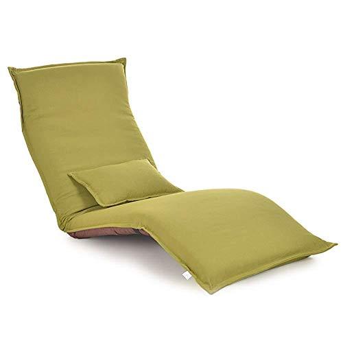 CN Bodenstuhl Verstellbarer Faltbarer Fauler Sofa-Stuhl Mit Rückenlehne Sowie Nap Und Tv,F,Einheitsgröße