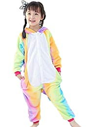 Tuopuda Pijama Animal Entero Unisex para Niños con Capucha Ropa de Dormir Traje de Disfraz para