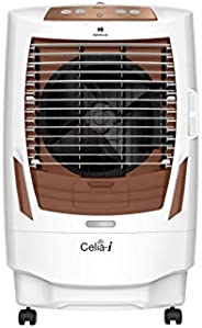 Havells Celia I Desert Air Cooler - 55 Litres (White, Brown)