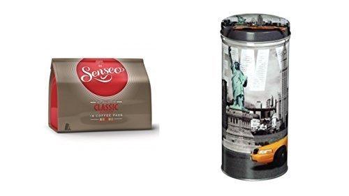 Senseo - Classic Kaffeepads - 16.St/111g Xavax Paddose 'City' New York Freiheit