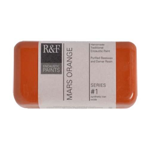 R & F Encaustic 40ml Mars Arancione