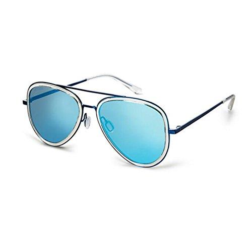 SHULING Sonnenbrille Die Neue, Nicht-Polarisierte Sonnenbrillen Herren Sonnenbrillen, Blue Box/Blue...