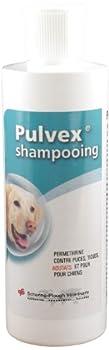 Pulvex Shampooing Antiparasitaire Tiques et Puces Aoutats Moustiques pour chien 200ml