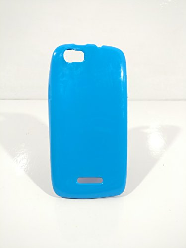 iCandy™ Colorfull Thin Soft TPU Back Cover For Xolo Q700S - Turquoise  available at amazon for Rs.99