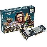Gigabyte Grafikkarte NVidia FX5200 128MB DDR 64BIT AGP8X DVI TVO Heatsink