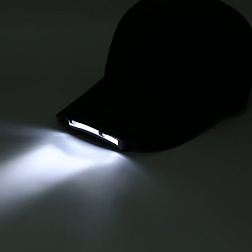 Swiftswan 11 LED Clip auf Mütze Hut Licht Camping Walking Working Jogging