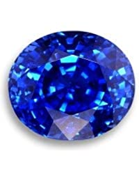 9STARS 8 Ratti Super Deluxe Quality Blue Sapphire !Neelam! By Lab Certified