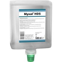 Antimikrobielle Seife Myxal® HDS Neptunflasche 1 L Antimikrobielle Waschlotion für Hände (Seife Antimikrobielle)
