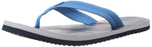 Reebok Women's Camo Flip LP Navy, White, Vitamin and Blue EVA Flip-Flops and House Slippers - 4 UK  available at amazon for Rs.664