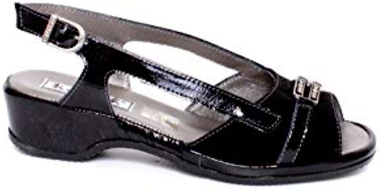 Gentiluomo   Signora Katrin - Sandalo Donna Nabuk Qualità superiore lussuoso Prezzo al dettaglio | Sensazione Di Comfort  | Uomini/Donne Scarpa