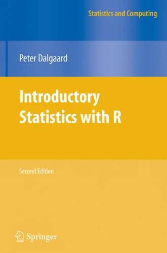 Introductory Statistics with R (Statistics and Computing) por Peter Dalgaard