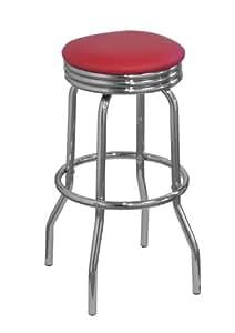 df sales lamboro retro bar stool red. Black Bedroom Furniture Sets. Home Design Ideas